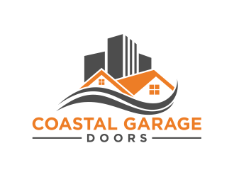 Coastal Garage Doors logo design by cintoko