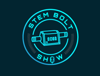 Stem Bolt Show logo design