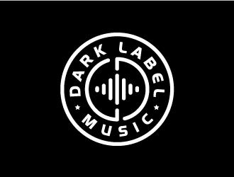 Dark Label Music  logo design
