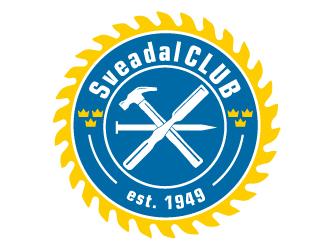 SveadalCLUB est. 1949 logo design by AamirKhan