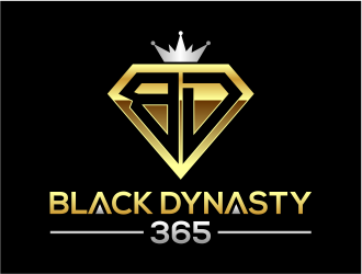 Black Dynasty 365 logo design