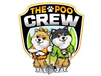 The Poo Crew logo design