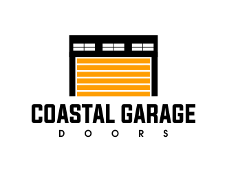 Coastal Garage Doors logo design by JessicaLopes