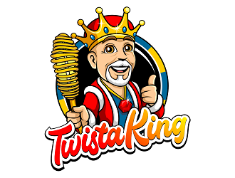 Twista King logo design