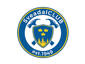 SveadalCLUB est. 1949 logo design by PrimalGraphics
