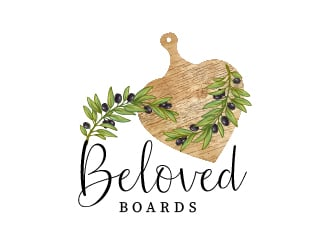Beloved boards  logo design