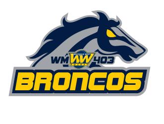 Whitemud West WM403 Broncos logo design by justin_ezra