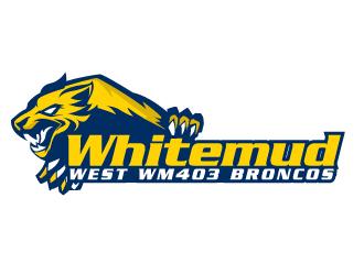 Whitemud West WM403 Broncos logo design by AamirKhan