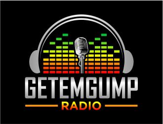 Getemgump Radio logo design