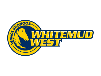 Whitemud West WM403 Broncos logo design by Ultimatum