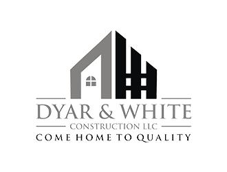 Dyar & White Construction  logo design