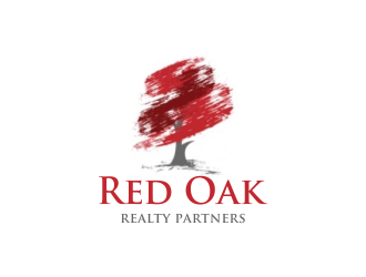 Red Oak Realty Partners logo design