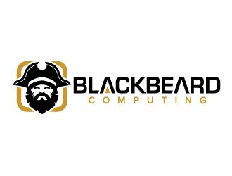 Blackbeard Computing logo design