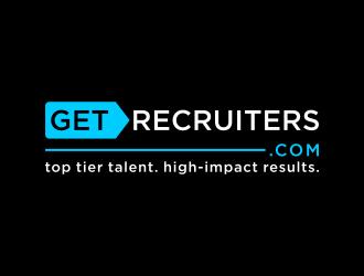 GetRecruiters.com logo design