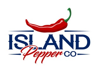Island Pepper Co logo design