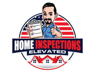 Home Inspections Elevated logo design