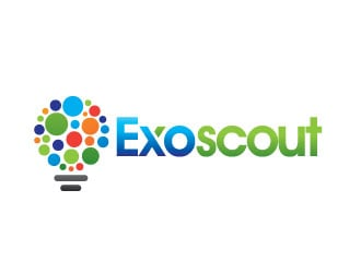 ExoScout logo design