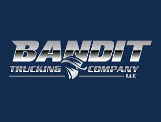 Bandit Trucking Company LLC logo design