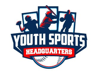 Youth Sports Headquarters logo design