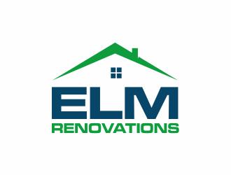 Elm Renovations LLC  logo design
