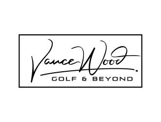 Vance Wood Golf & Beyond logo design