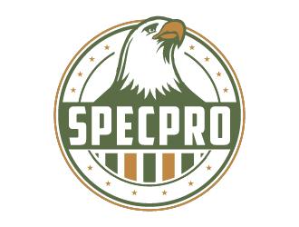 Specpro logo design
