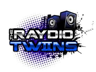 The Raydio Twins logo design