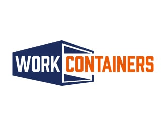 WorkContainers.com / Work Containers logo design