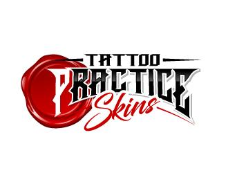 Practice Skins logo design winner