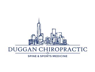 Duggan Chiropractic logo design