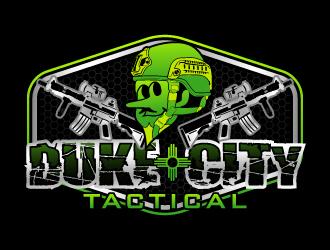 Duke City Tactical logo design