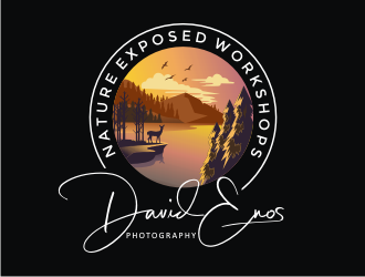 Nature Exposed Workshops - David Enos Photography logo design