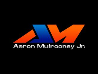 Aaron Mulrooney Jr. logo design