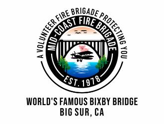 Mid-Coast Fire Brigade  logo design winner