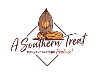 A Southern Treat logo design