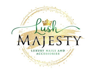 Lush Majesty LLC logo design