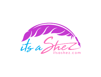 ItsaShez.com is planned website.  Logo will be       Its A Shez    logo design