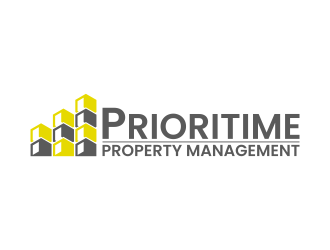 Prioritime Property Management logo design