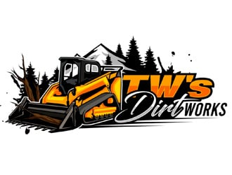 TW's Dirt Works  logo design
