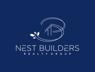 Nest Builders Realty Group logo design