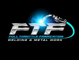 Full Throttle Fabrication  logo design