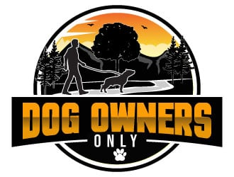 Dog Owners Only Logo Design