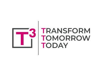 T3  logo design
