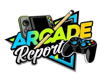 Arcade Report logo design
