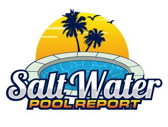 Salt Water Pool Report logo design winner