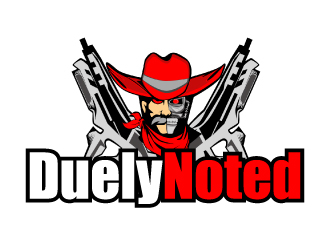Duely Noted  logo design by AamirKhan