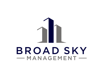 Broad Sky Management logo design