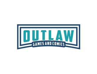 Outlaw Games and Comics logo design by Arto moro