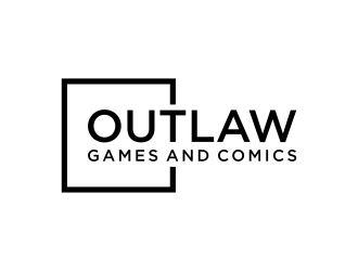 Outlaw Games and Comics logo design by p0peye