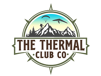 The Thermal Club Co logo design by PrimalGraphics